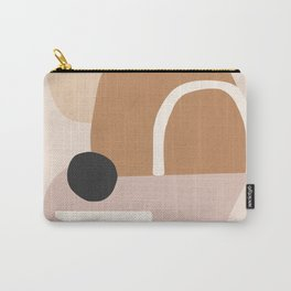abstract minimal 24 Carry-All Pouch
