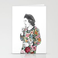 coconutwishes Stationery Cards featuring Harry  sketch  by Coconut Wishes