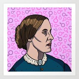 Susan B. Anthony Art Print