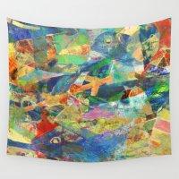 fishing Wall Tapestries featuring Tuna Fishing by Fernando Vieira