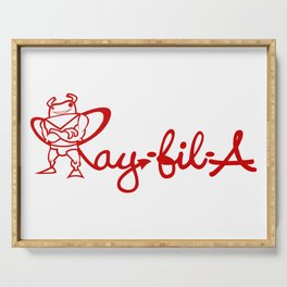 Ray Fillet's Ray-fil-A Serving Tray