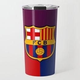 barcelona Sport Football Spain red blue team Travel Mug