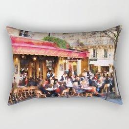 Paris Café Rectangular Pillow