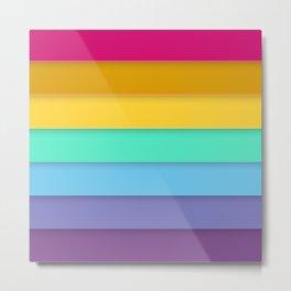 Rainbow flag Metal Print