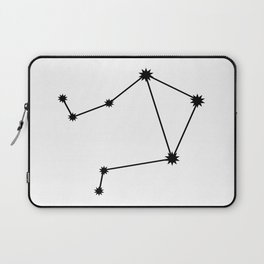Libra Astrology Star Sign Minimal Laptop Sleeve