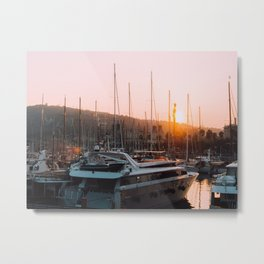 Barcelona's waterfront  Metal Print