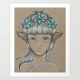Yacinth Art Print