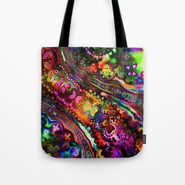 Rainbow River Tote Bag