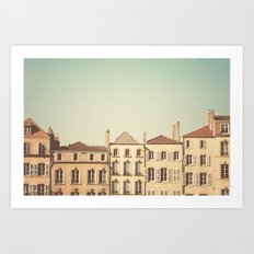 designated town of art & history ... Art Print