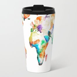 HE'S GOT THE WHOLE WORLD. JUBIL PRINTS Metal Travel Mug
