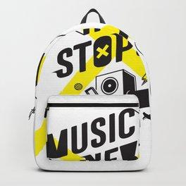 Music Never Stops Backpack