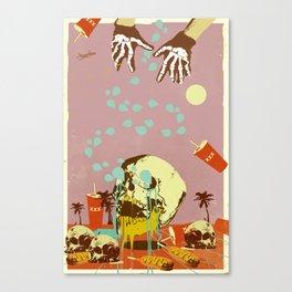 SUMMER SEANCE Canvas Print