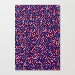 All-over ditsy floral Canvas Print