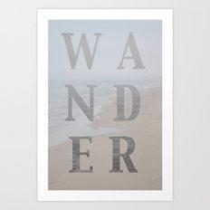 Wandering Art Print