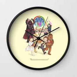 Curse those thieving, silent Jedi Knights (and on Christmas too!) Wall Clock