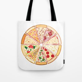 Feast of St. Pizza: Lebanon Edition Tote Bag