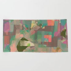 Abstract Painting No. 11 Beach Towel