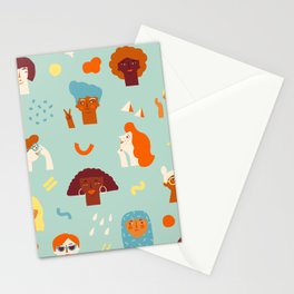 We are women Stationery Cards