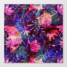 Motuu Tropical CMY Canvas Print