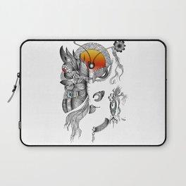 Butterfly Woman Laptop Sleeve