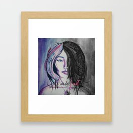 Wander/Lust Framed Art Print