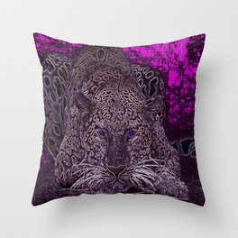 Valentino Leopard Throw Pillow