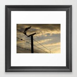 Freedom (Docklands, 2011) Framed Art Print