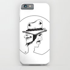 2 Hat Face iPhone 6s Slim Case