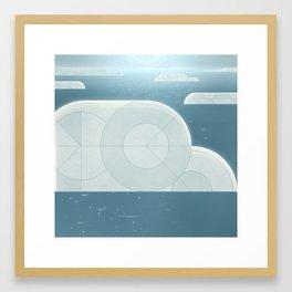 Creation: Day 2 Framed Art Print