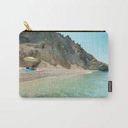 Greece beach Carry-All Pouch