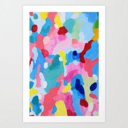 Prismatic optasia Art Print