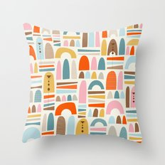mountainsss Throw Pillow