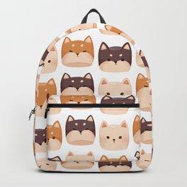 Shiba Inu Marshmallow Backpack