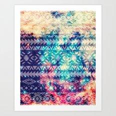 Galaxy Tribal Art Print