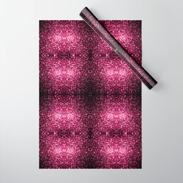 Beautiful Dark Pink glitter sparkles Wrapping Paper