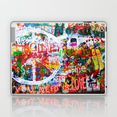 Lennon Wall - All You Need Is Love - Peace Laptop & iPad Skin