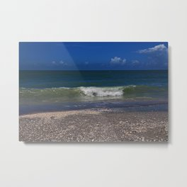 Hitch a Ride on a Wave Metal Print