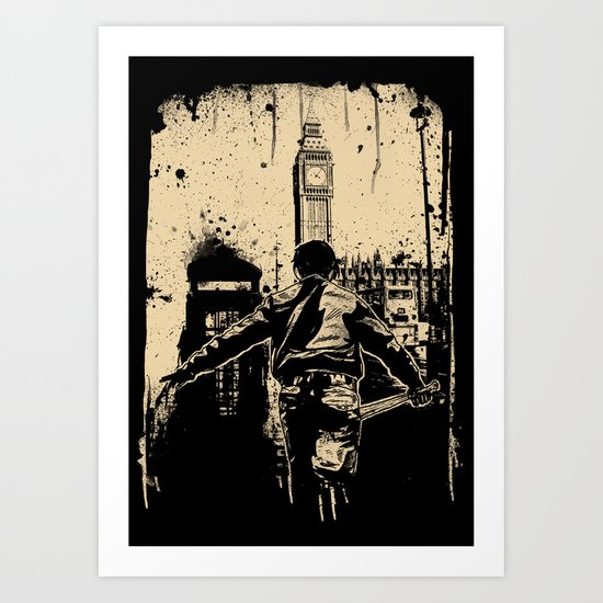 attack this town Art Print