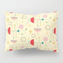 Atomic pattern umbrellas   #midcenturymodern Pillow Sham