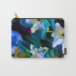 Languid Blue Comfort Carry-All Pouch