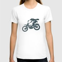 grease T-shirts featuring jump by The Junkers