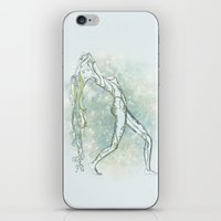 aquarius iPhone & iPod Skins featuring Aquarius by Vibeke Koehler