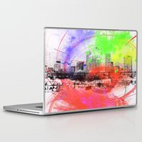 skyline Laptop & iPad Skins featuring Skyline by Fine2art