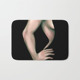 Velvet Curves Bath Mat