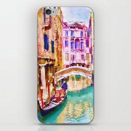 Venice Canal 2 iPhone Skin