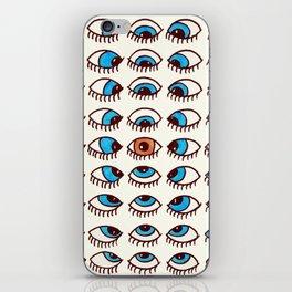 Eyes Lie iPhone Skin