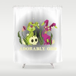 Adorably Odd Shower Curtain