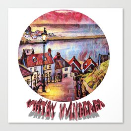 Wandering Whitby Canvas Print