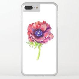 Floral Graphic Design Elements Clear iPhone Case