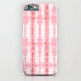 Tiki Shibori Pink iPhone Case